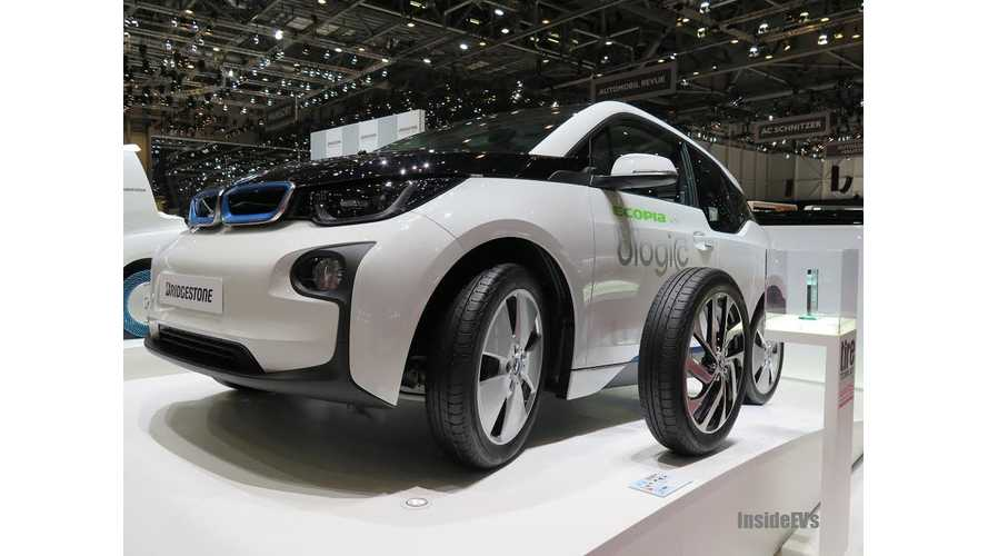 Bridgestone Electrifies Its Fleet With Addition Of BMW i3s