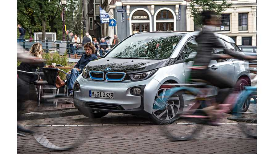 Optional Artificial Sound For BMW i3 And BMW i8