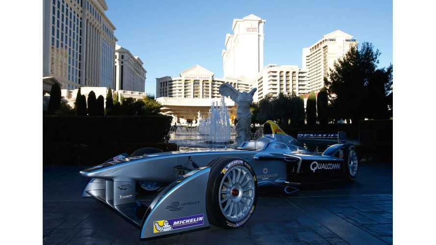 "Formula E Sounds Like a ""Fighter Jet Or Like The Podracer in Star Wars"" - Video"