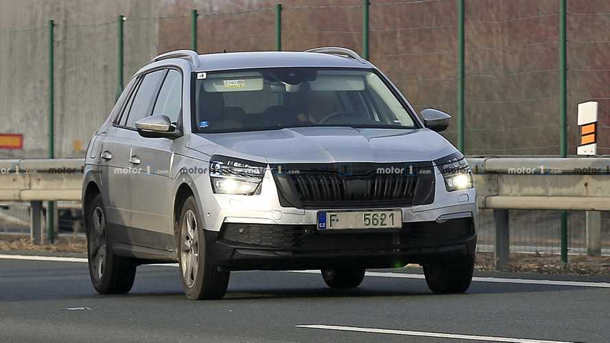 Euro-spec Skoda Kamiq spy photos