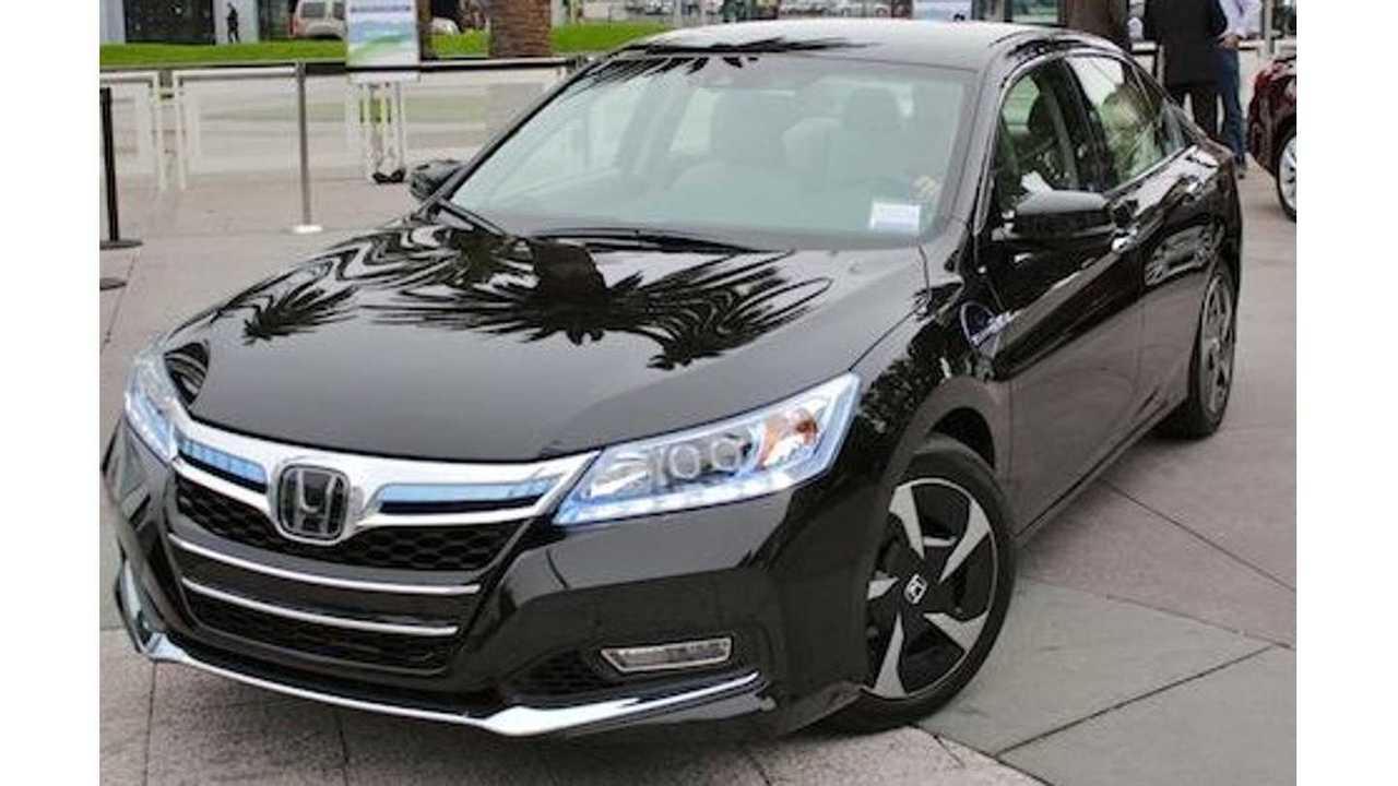 2014 (yes, 2014) Honda Accord Plug-In (via automedia)