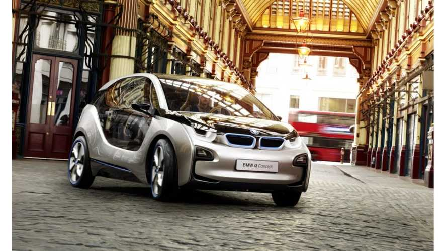 BMW Speeds Up Debut Of i3 With Range Extender, As Model Will Debut In Geneva