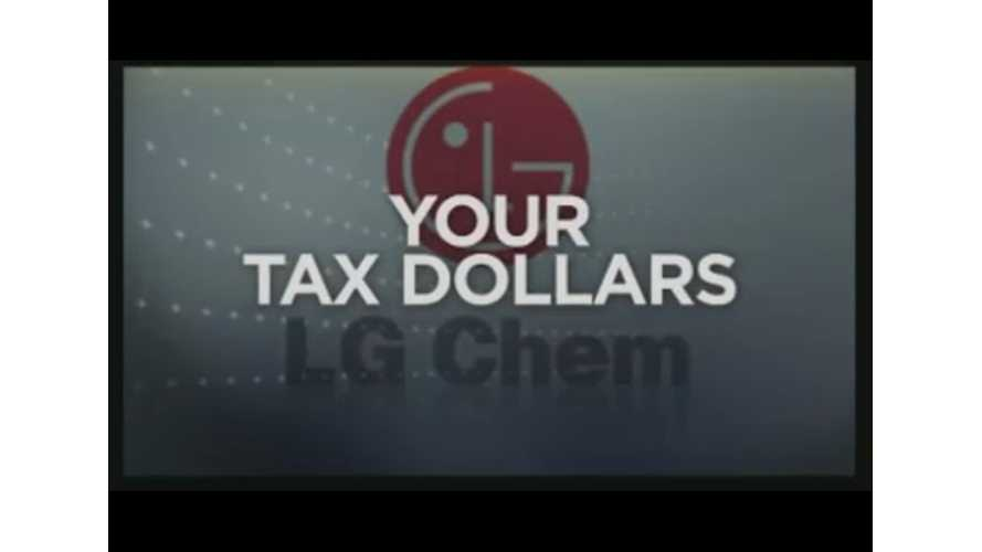 Local TV Report From Inside LG Chem's Chevy Volt Battery Plant.  Finds Nothing Happening (Video)