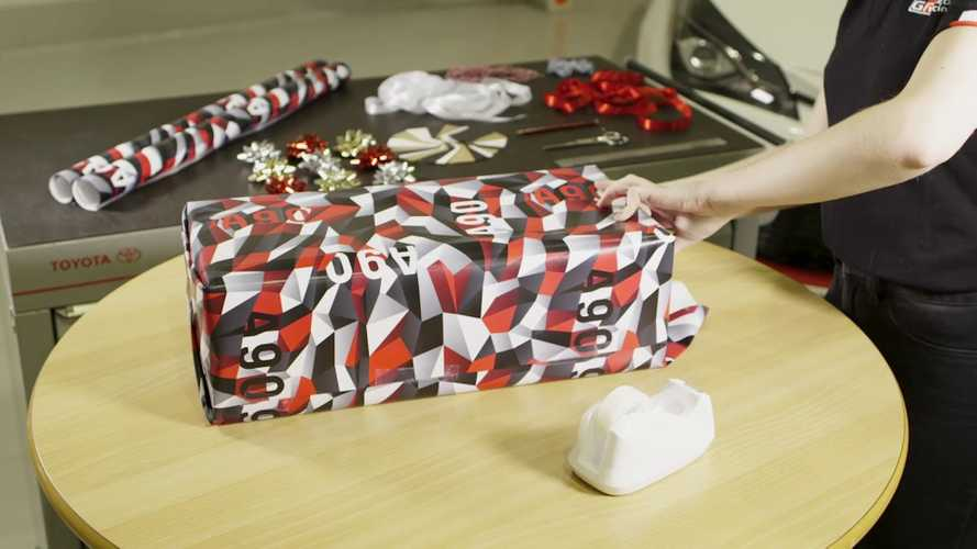 Buy Toyota Supra Camo Wrapping Paper For A Good Cause