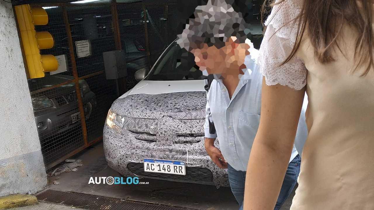 Flagra: Novo Renault Duster na Argentina