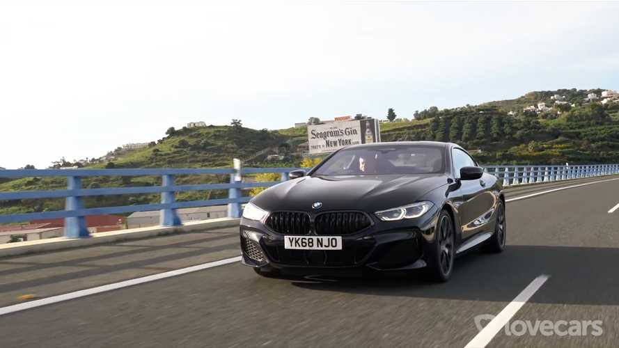 Tiff Needell Drives BMW 8 Series Diesel