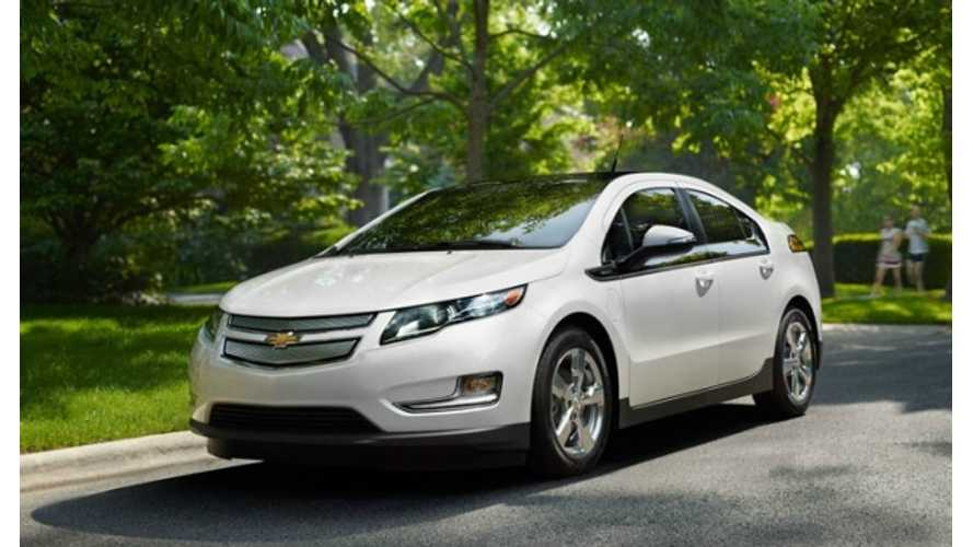 Chevrolet Volt Gets First Formal Recall; Only Four 2012 Volts Affected