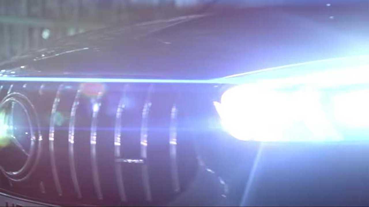 Mercedes-AMG Grille Teaser