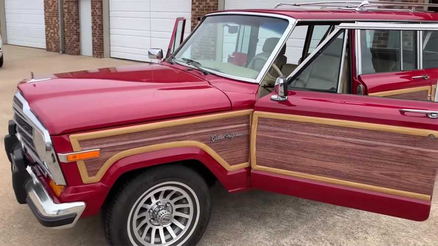 Beware: Jeep Grand Wagoneer Hellcat Swap Is Coming