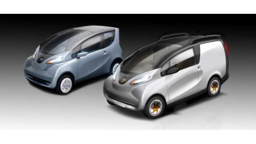 Tata Unveils Electric eMO-C Concept Van