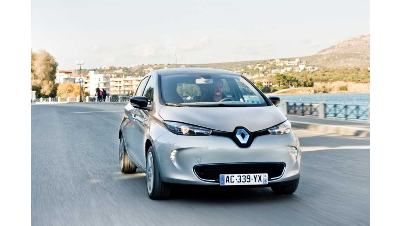 Renault Releases Photos Galore of Electric Zoe
