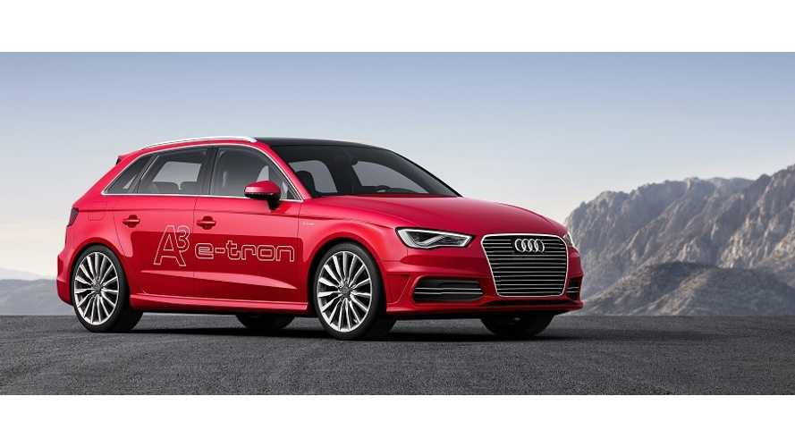 Audi Confirms US Availability of 2015 A3 e-tron Sportback