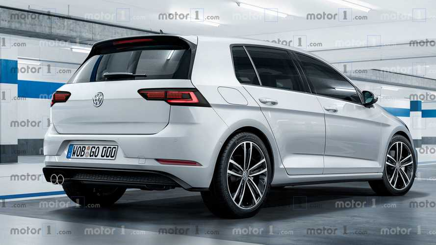 Render Volkswagen Golf 2019