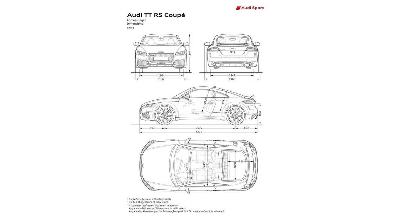 2019 Audi Tt Rs Coupe Motor1 Com Photos