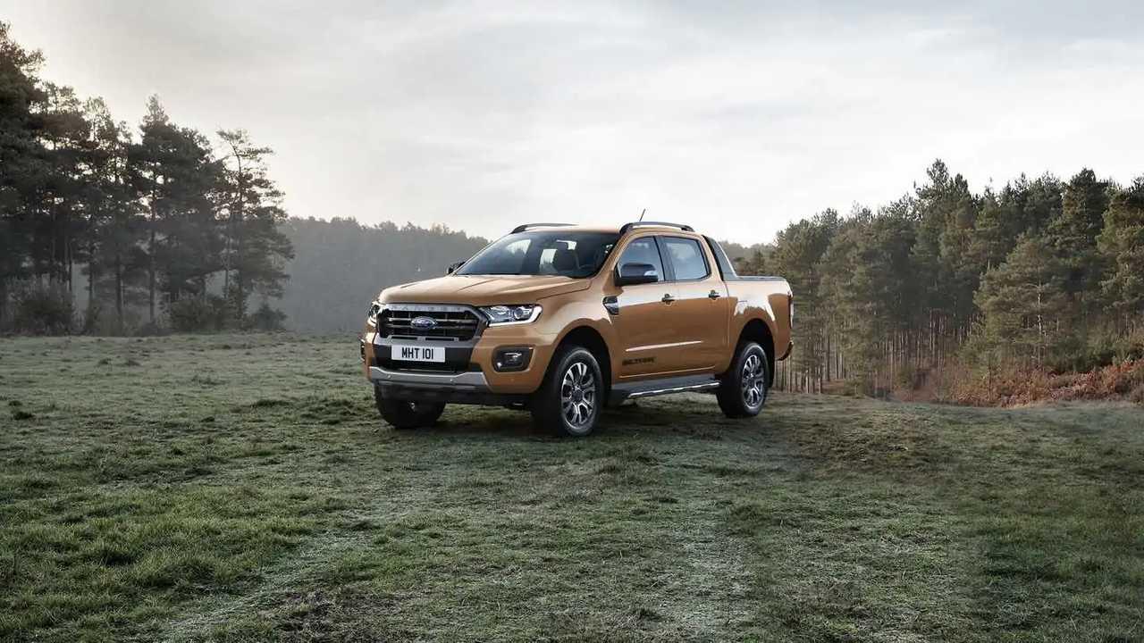 2019 Ford Ranger (Euro-spec)
