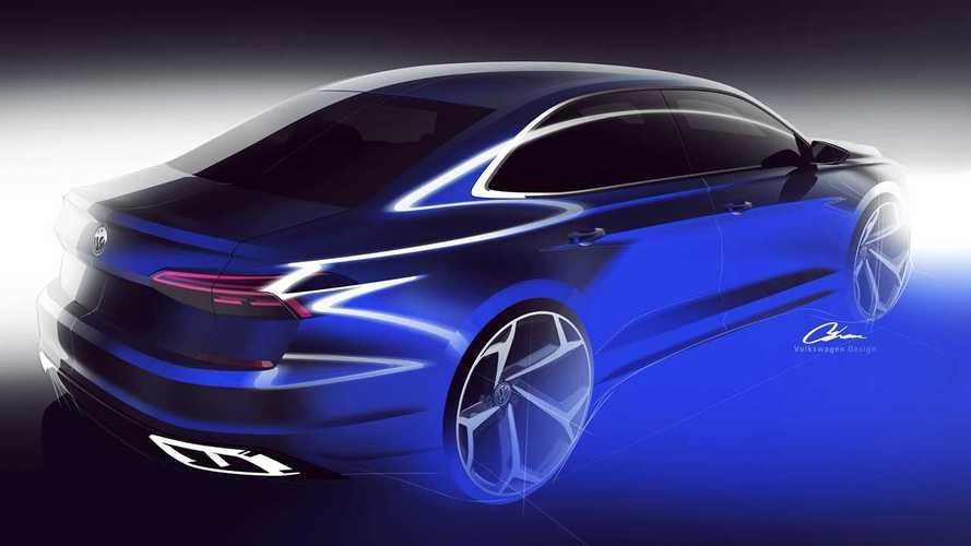 2020 Volkswagen Passat teasers