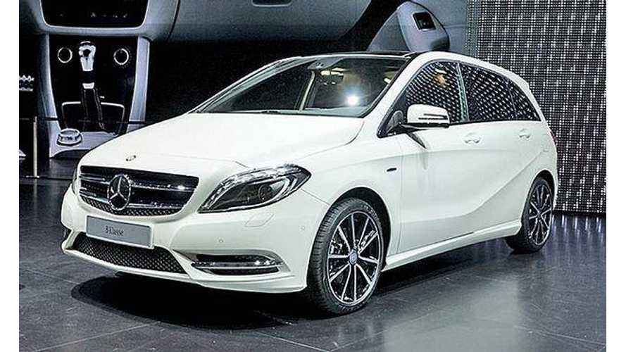 Pure Electric Mercedes Coming to US in 2014