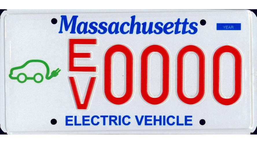 Massachusetts Offers Special EV License Plate