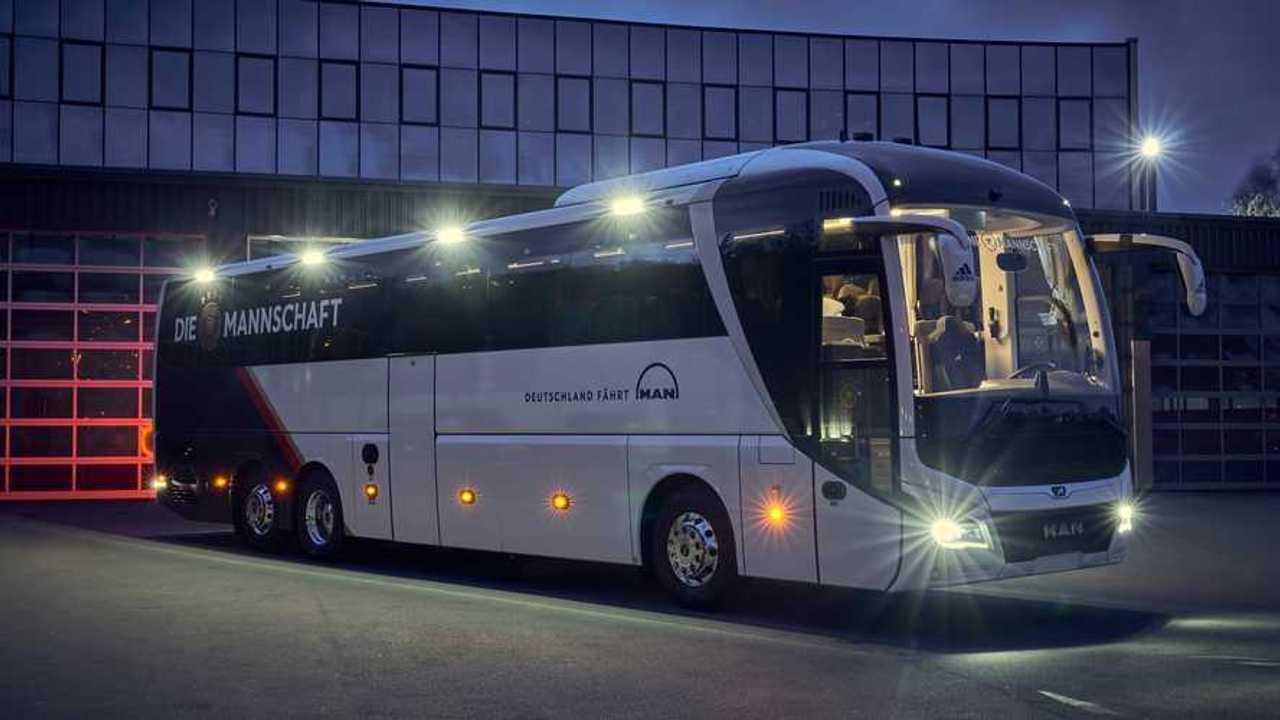 MAN Lion's Coach DFB-Mannschaftsbus