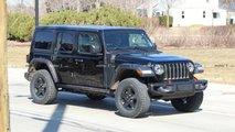 Jeep Wrangler PHEV photos espion