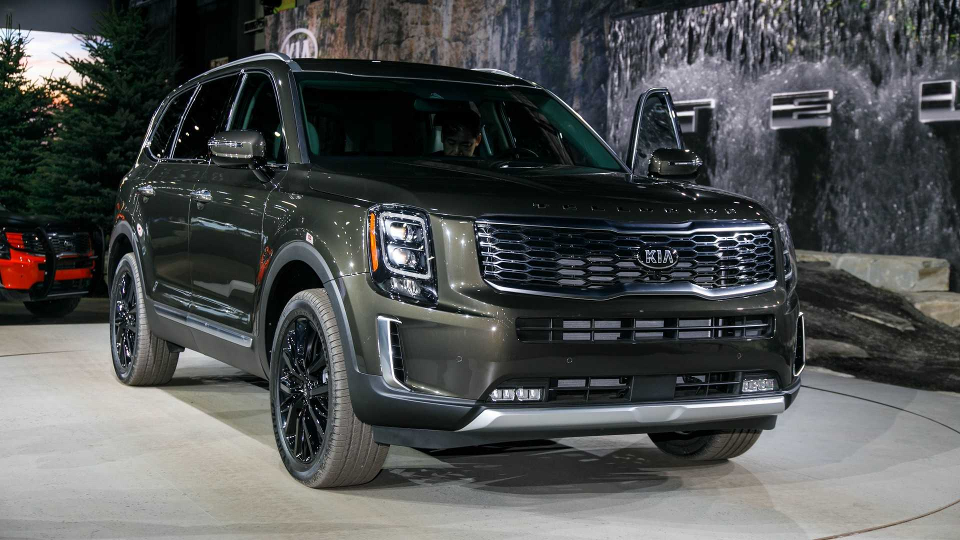 2020 Kia Telluride Luxury Large Suv Youtube