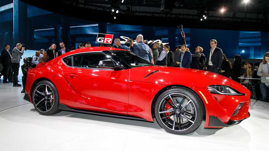 Detroit Auto Show 2020 Toyota Supra Debuts With 335 Hp After A Decade Of Update