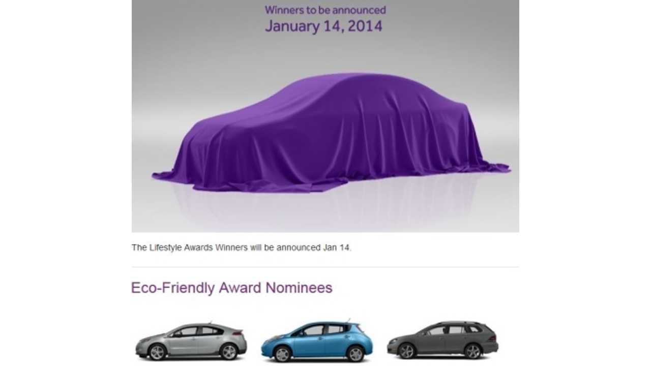 Chevy Volt and Nissan LEAF Among Nominees For Cars.com Eco-Friendly Car of the Year Award