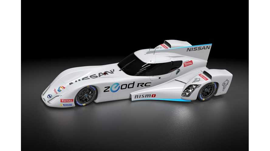 Nissan Adds Next Generation Range Extender To ZEOD RC