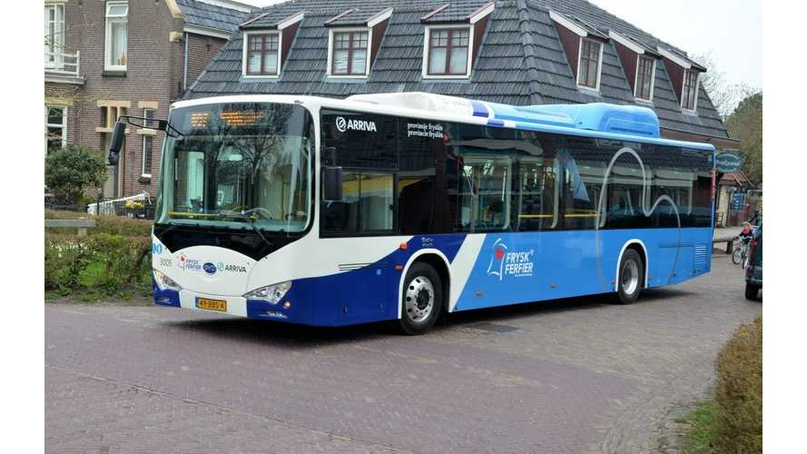 BYD Electric Buses on Schiermonnikoog Island - Video After 6 Months of Use
