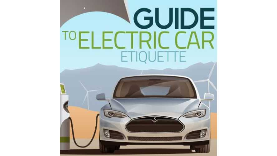 Infographic: Electric Car Etiquette