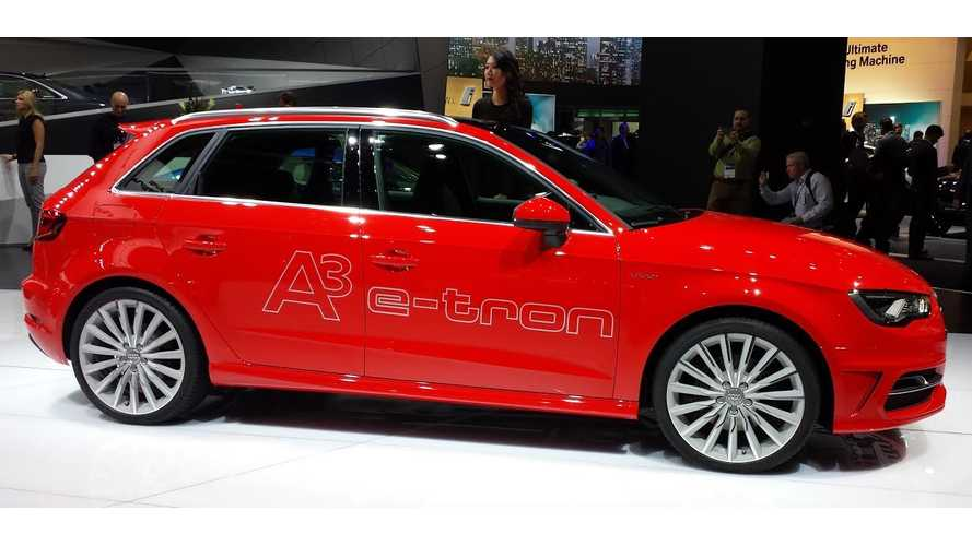 Audi A3 E-Tron Takes to the Stage at the 2014 Detroit Auto Show
