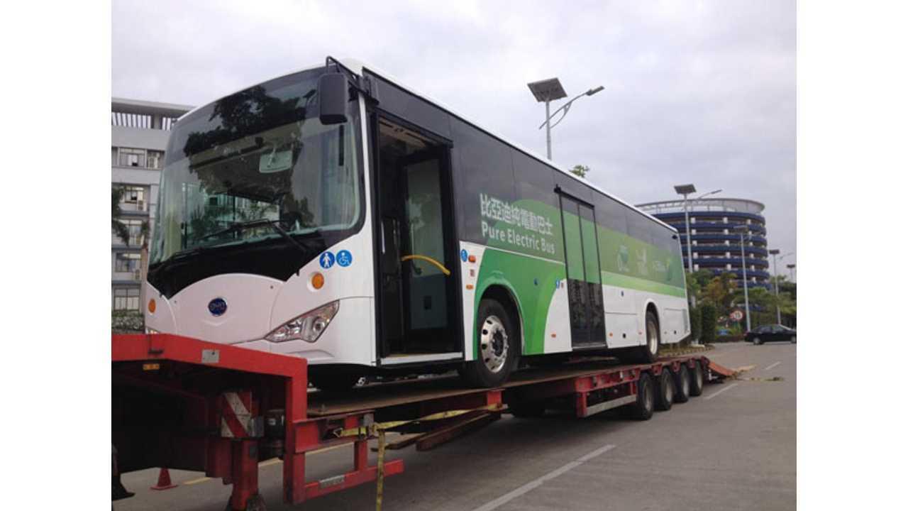 BYD Introduces Electric Buses in Macau - aka Asian Vegas
