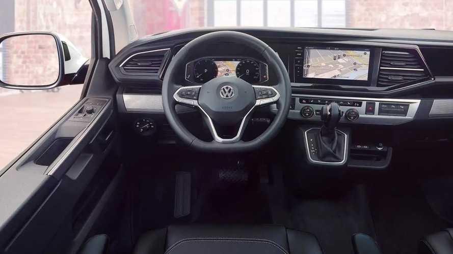Volkswagen T6 Multivan restyling