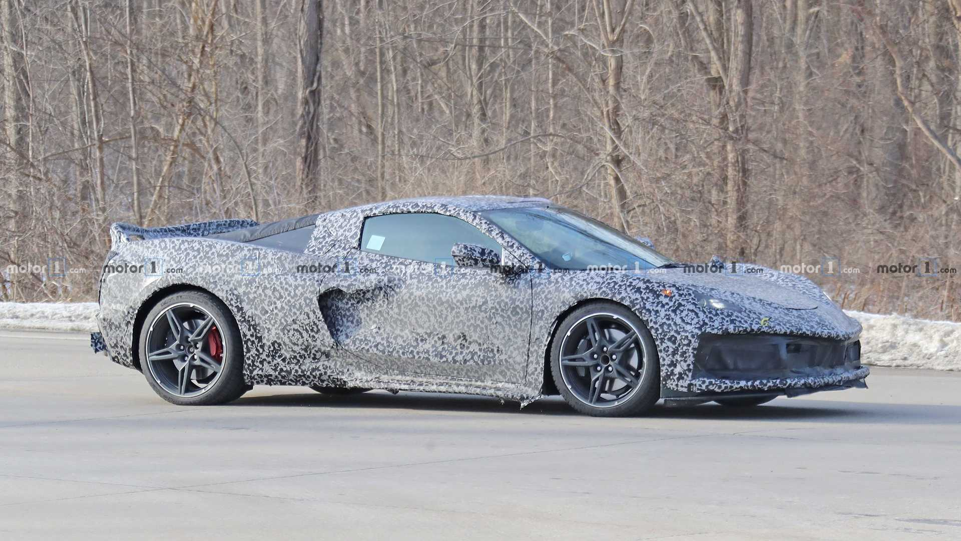 Mid Engined Corvette Spied In Michigan New Details Revealed