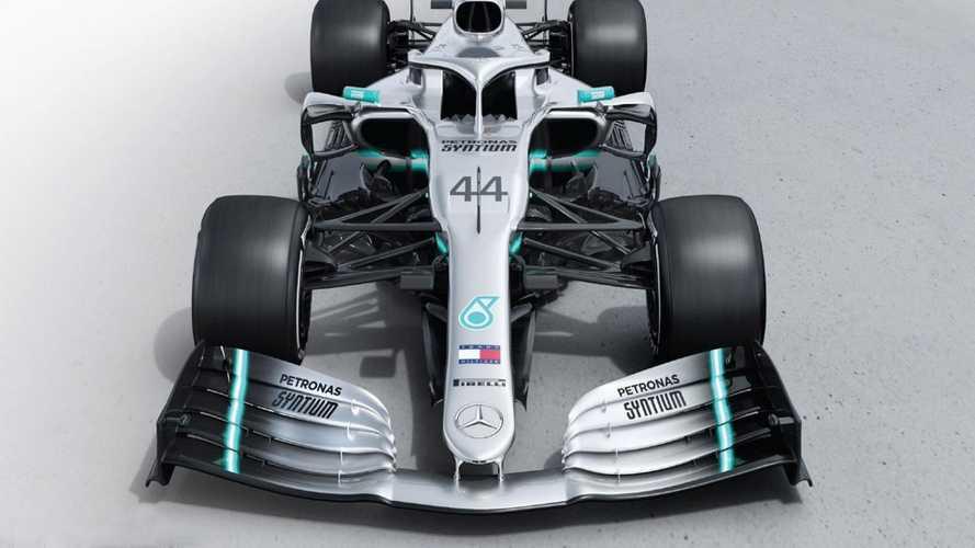 Mercedes, ecco la W10 di Hamilton e Bottas