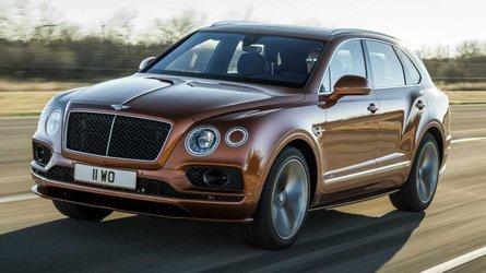 A világ leggyorsabb SUV-jaként érkezett meg a Bentley Bentayga Speed
