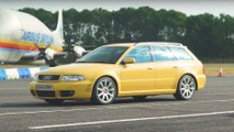 BMW E46 M3 CSL vs Audi RS4 Avant B5