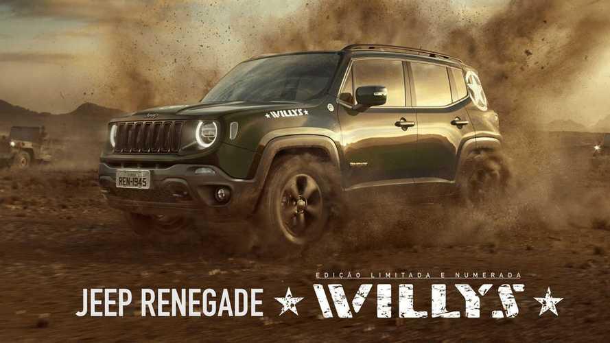 Jeep Renegade Willys entra em pré-venda por R$ 146.990
