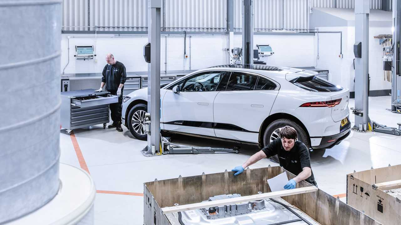 Jaguar Reality aluminium recycling