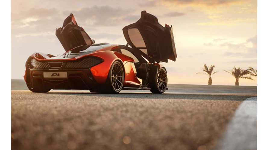 Despite Its $1.5 Million Average Price Tag, the McLaren P1 Plug-In Hybrid is Nearly Sold Out