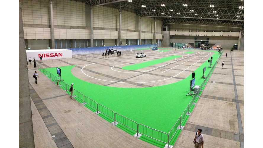 Nissan Wins Top Award At CEATEC Japan 2013 For Autonomous Driving Technology (w/video)