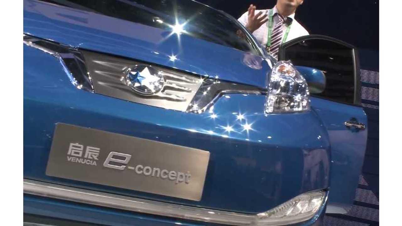 Nissan LEAF Becomes The Venucia