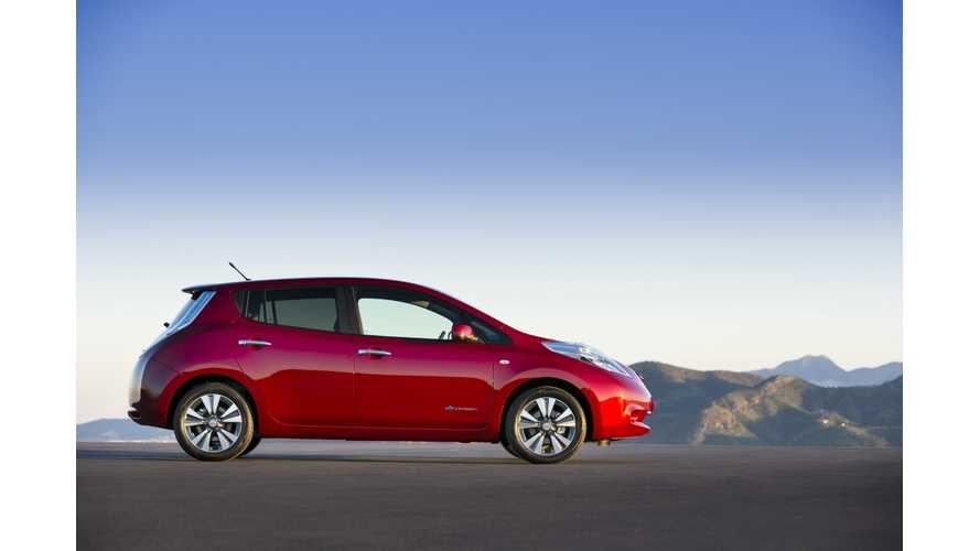 Nissan LEAF Sales Exceed 2,000 in October