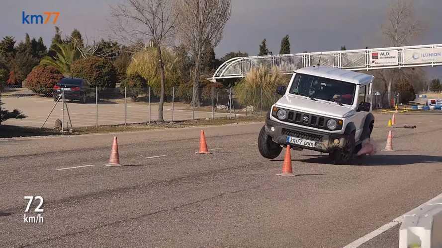 Jávorszarvas-teszten járt a Suzuki Jimny