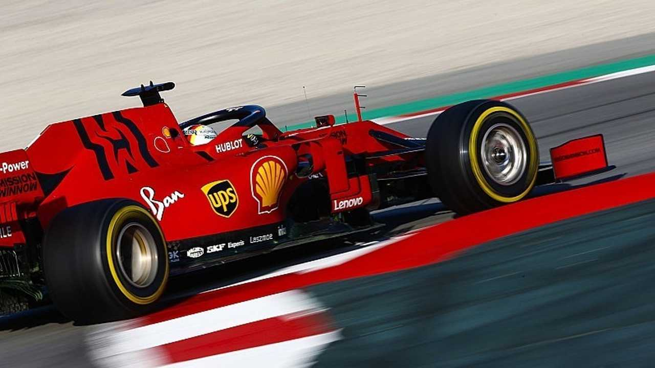Vettel Ferrari SF90 pretemporada F1 2019