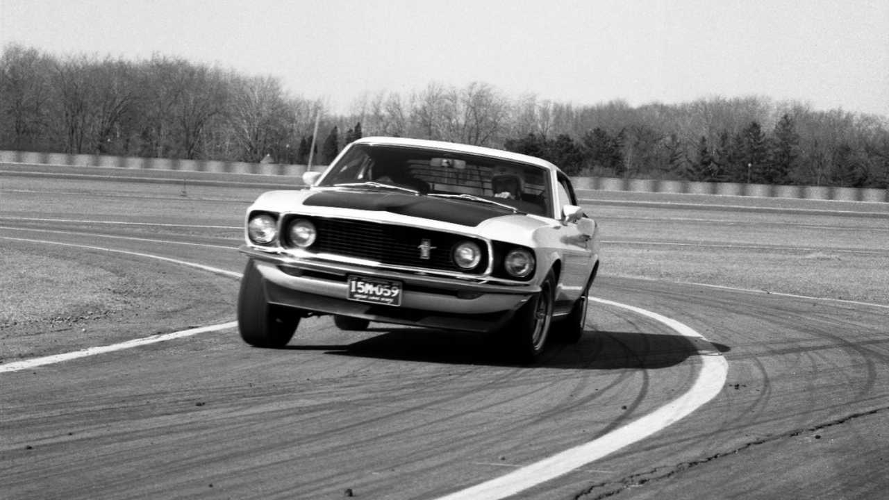Geral R Ford - 1969 Ford Mustang