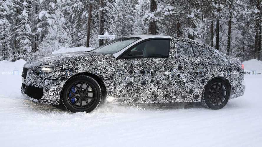BMW 2 Series Gran Coupe Caught Dancing In The Snow