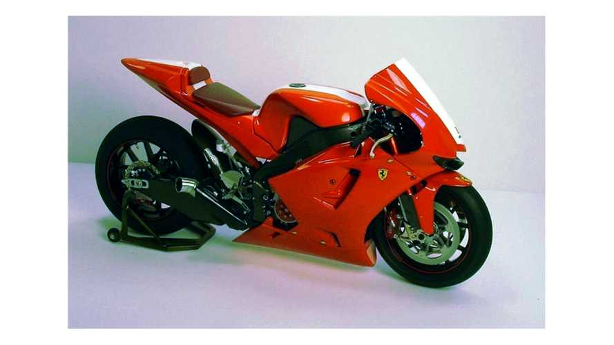 Ferrari FXX–inspired motorcycle unfortunately just a model