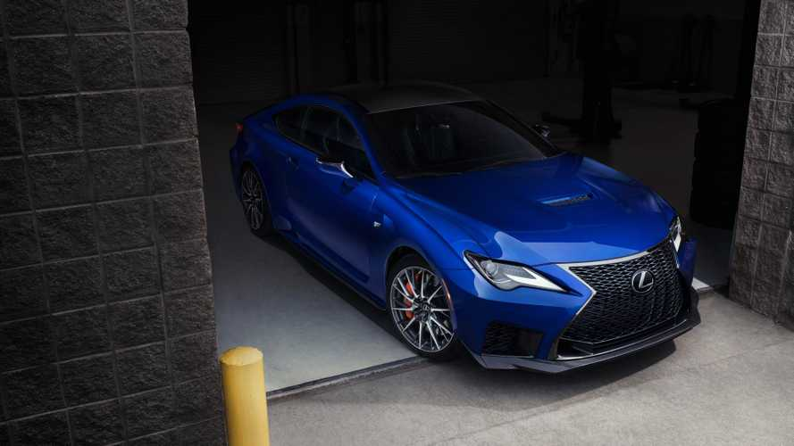 2020 Lexus RC F debuts in detroit with more power, fresh look