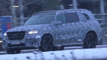New Mercedes GLS screenshots from spy video